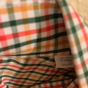 Southern Tide Shirts - Southern Tide button down plaid checkered shirt